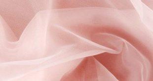 """108"""" Nylon Chiffon Tricot Light Pink"""