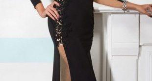 2018 Prom Dresses Gorgeous black chiffon dress Prom dresses special occasion dresses from prom dress