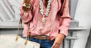 Chiffon Vintage Sleeveless V Neck Blouses,Lace Up Fashion V Neck Long Sleeve Blo...