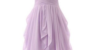 Light purple bridesmaid dresses ❤ liked on Polyvore featuring dresses, short c...