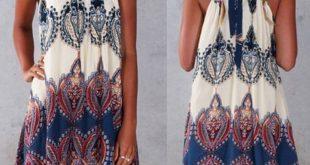 Vestidos 2018 Women Summer Dress Casual Boho Mini Beach Dress Floral Print Tunic Sleeveless Short Chiffon Dress