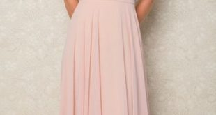 ViCTOR   Rose Skirt & Mandy Top   Blush Pink Long Bridesmaid Skirt. Made to orde...