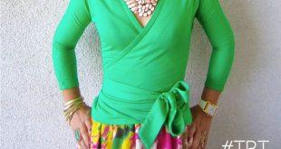 TBT DIY Chiffon Print Skirt