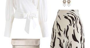 Chicwish Chiffon Skirt on Sale