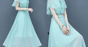 Dress High-end Temperament Was Thin Woman Year New Popular Day Skirt Fashion Chiffon Long Skirt Long Section