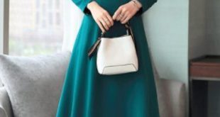 Long Sleeve Bow Collar Midi Dress on sale only US$34.42 now buy cheap Long Slee