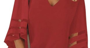 Red top for fall 2019. #fall2019fashiontrends #Falloutfitsforwomen #Springoutfit...