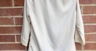 LC Lauren Conrad Chiffon Cardigan Sheer pleated chiffon trim & hem. POCKETS! S ...