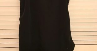 Abercrombie chiffon shirt Chiffon material, solid black, good condition, love to...