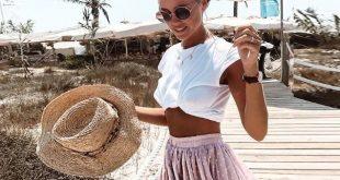 Boho Tassel High Waist Mini Skirt