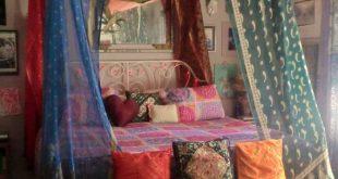CUSTOM Bohemian Gypsy BED CANOPY