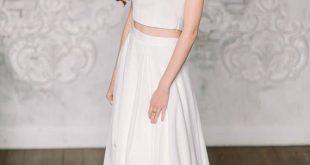 Chiffon skirt, Bridal Separates, Two Piece Wedding Dress, wedding separates,wedding skirt, long bri