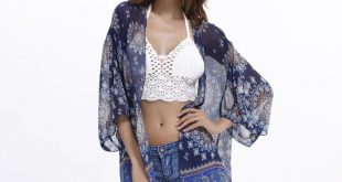 Cncool Beach Cover Ups 2019 Fashion Ultra-thin Women Chiffon Cardigan Summer Pri...