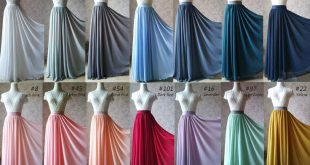 GRAY High Waisted Chiffon Maxi Skirt Gray Full Floor Length Bridesmaid Skirt NWT