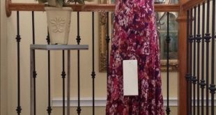 ✨HPx2✨KASPER Dress lined pullover Flowy Chiffon 12 NWT