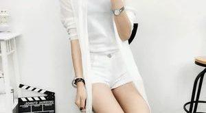 MLXSLKY Summer new large size women lace chiffon cardigan long fashion long slee...