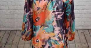 Mushka by Sienna Rose Chiffon Blouse Size M Chiffon Blouse Long sleeves Comforta...