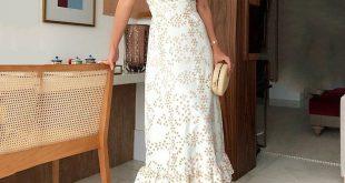 Stilvolle gekräuselten V-Ausschnitt Taille Kleid #ausschnitt #gekrauselten #kl...