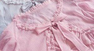 Summer Silver-Thread or Gold-Thread Chiffon Cardigan by Belle Langue Summer Sil ...