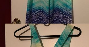 Summer Tank Top blue and green chiffon shirt, worn once, perfect for summer with...